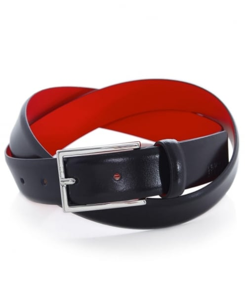 HUGO Leather Gavrilo-BL Belt