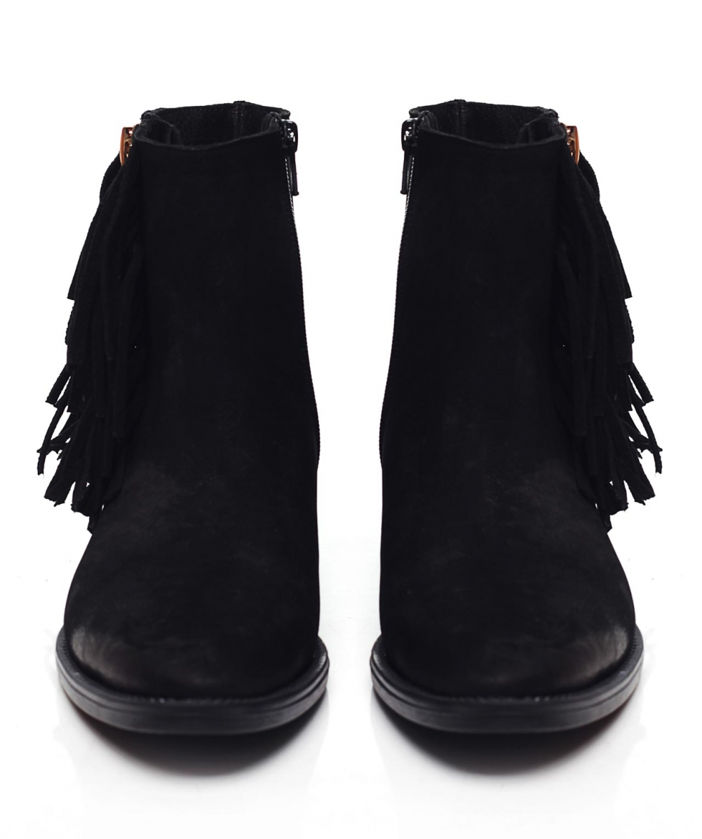 Ankle Boots With Fringe Detail - Gommap Blog
