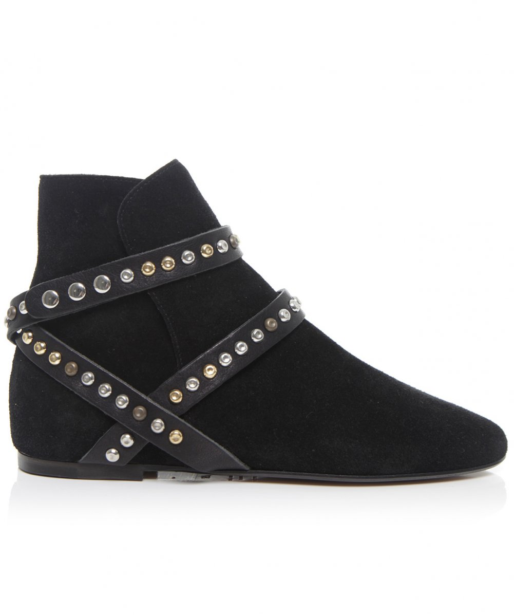 marant studded suede ruben boots available at jules b