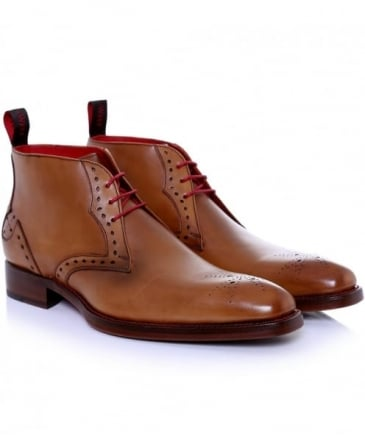 Leather Rudy Dexter Chukka Boots