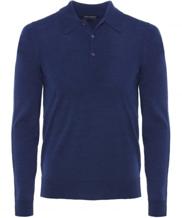 Easy Fit Merino Wool Dorset Polo Shirt