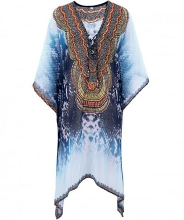 Long Aztec Kaftan