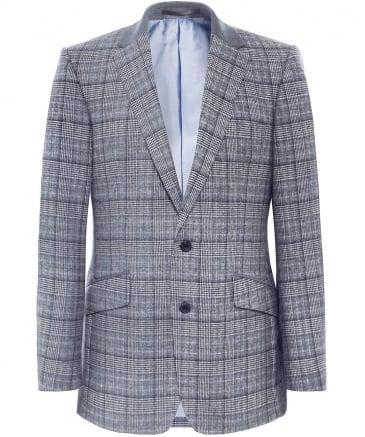 Wool Check Shelton Jacket