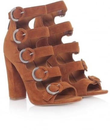 Evie Side Buckle Heels