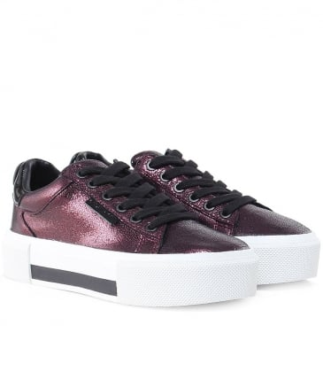 Foil Leather Tyler Trainers