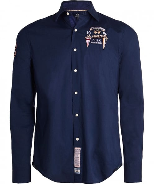 La Martina Embroidered Henerson Shirt