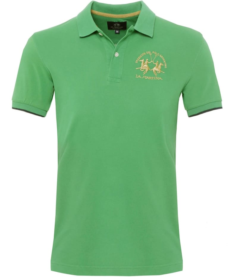 La Martina Green Slim Fit Miguel Polo Shirt Jules B