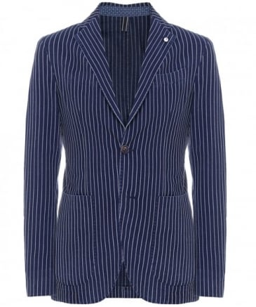 Cotton Striped Jacket