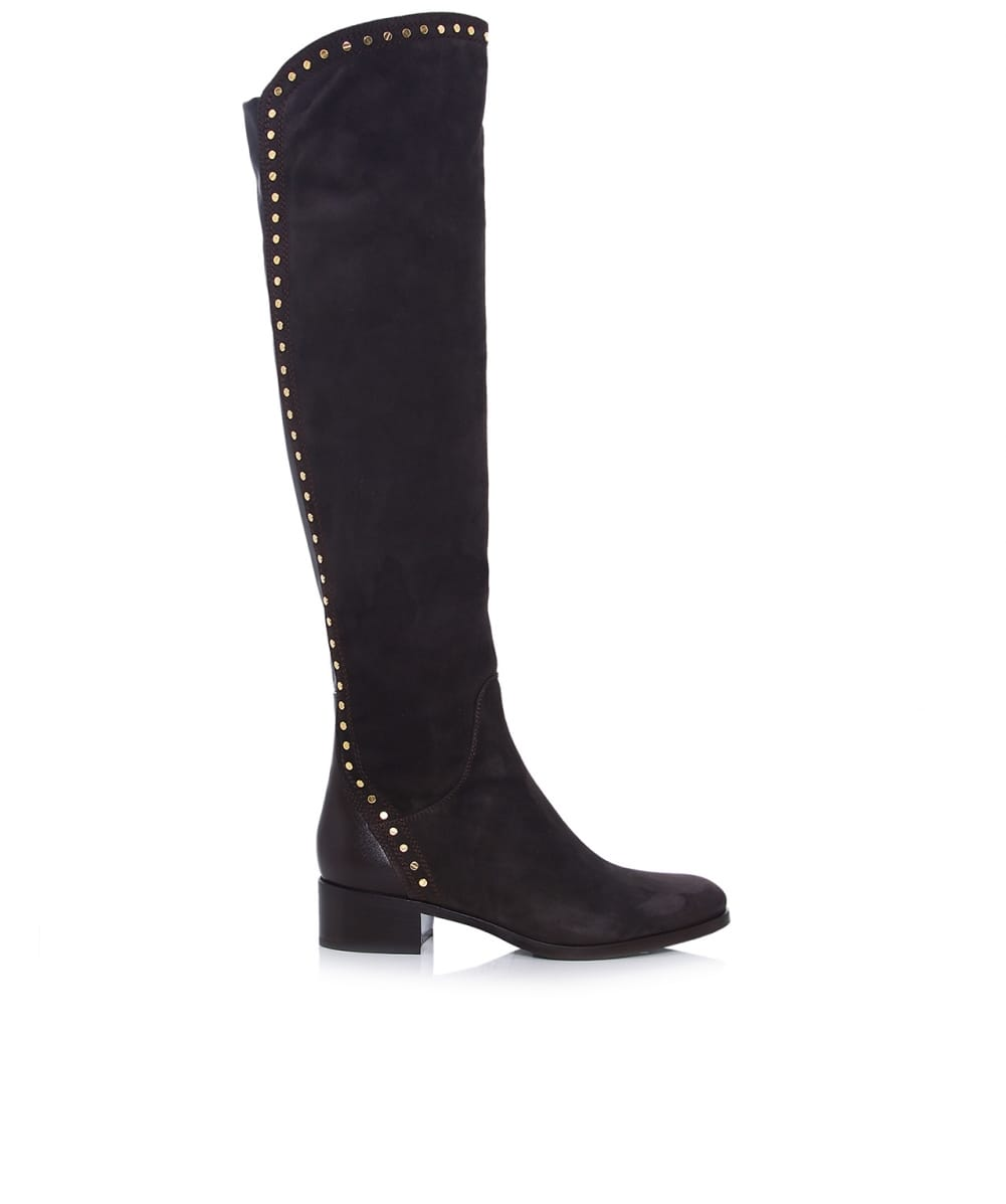 le pepe studded suede boots jules b