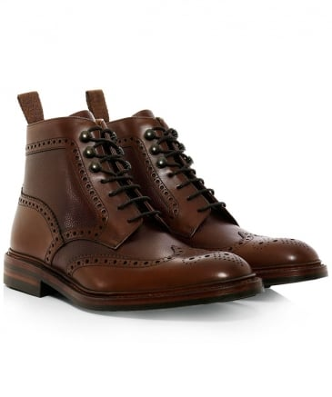 Calf Leather Bosworth Derby Boots