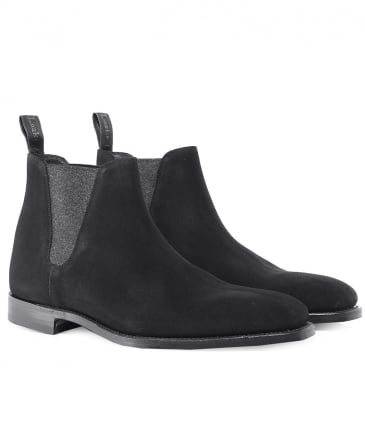 Suede Caine Chelsea Boots