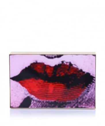 Olivia Rose Lips Clutch Bag