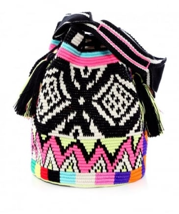 Large Aztec Bucket Bag