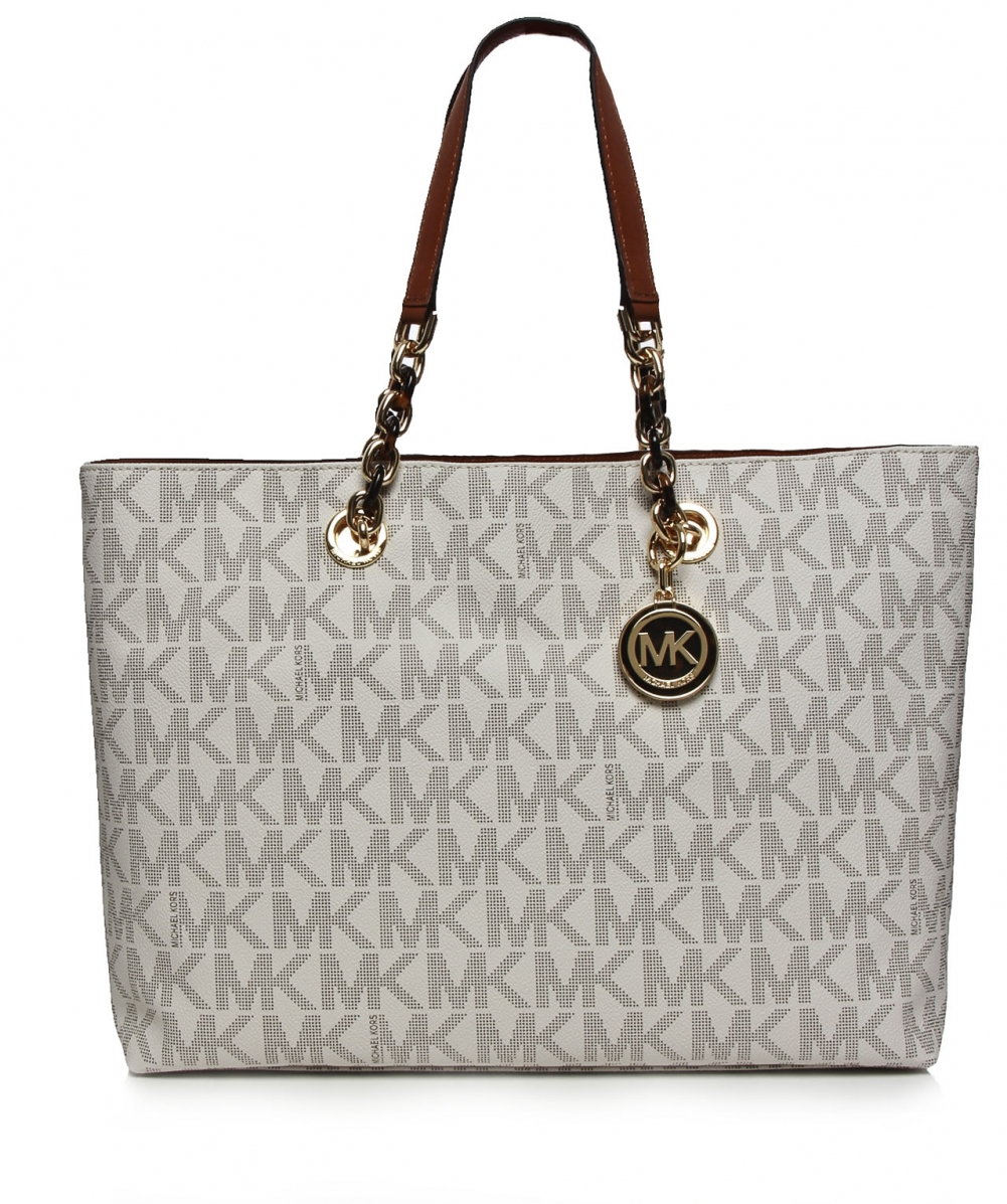 michael michael kors cynthia large shopper bag available at jules b. Black Bedroom Furniture Sets. Home Design Ideas