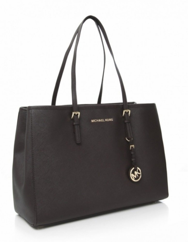 michael kors jet set travel shopper bag available at jules b. Black Bedroom Furniture Sets. Home Design Ideas