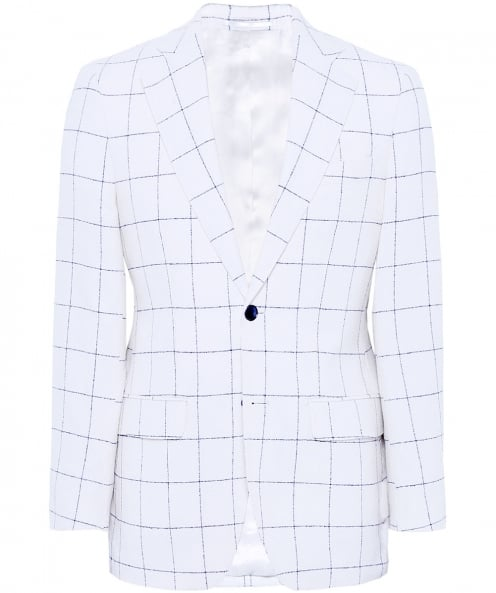 Munro Checked Wool Jacket