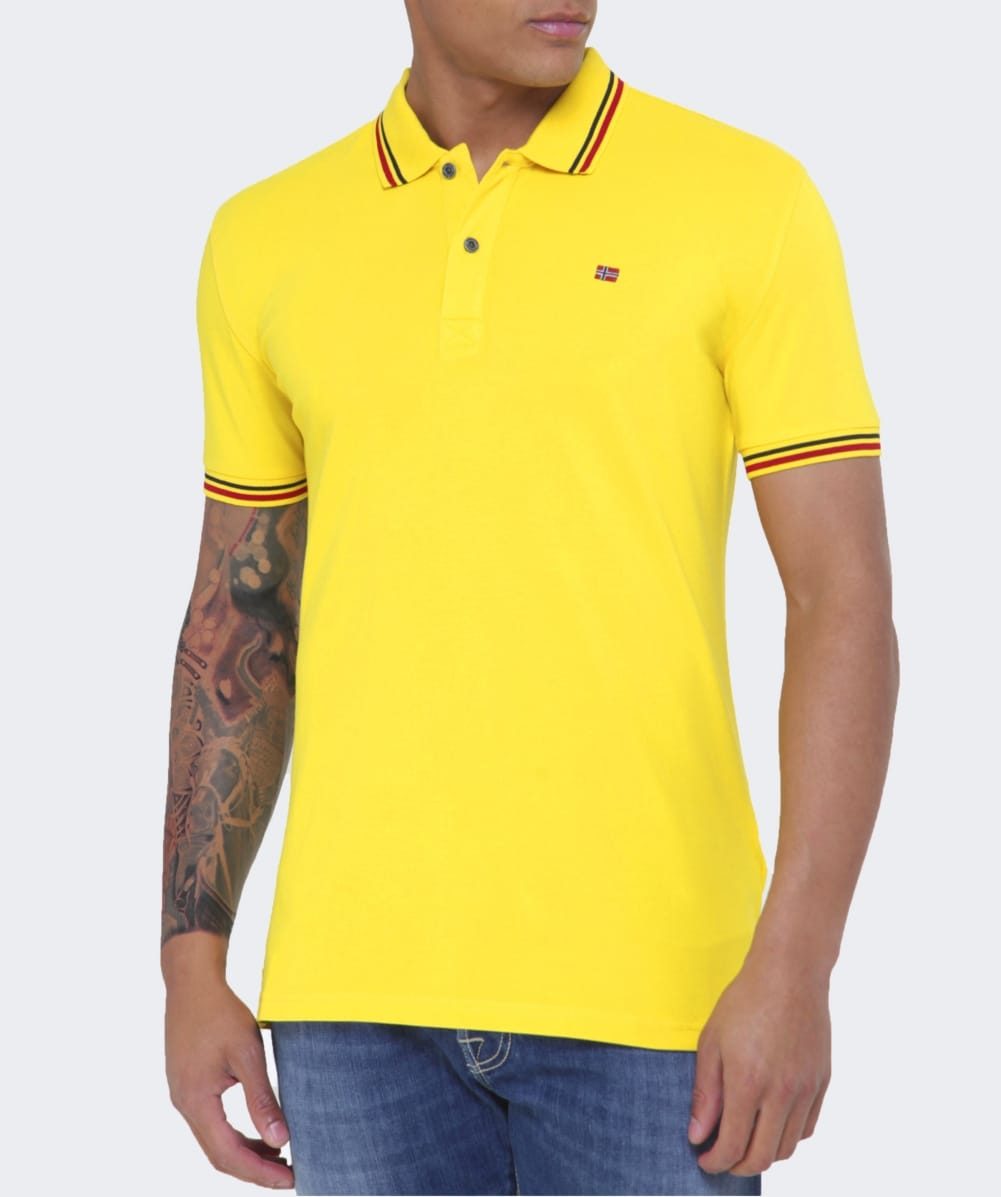 Mens Casual Slim Fit Golf Polo Shirt, Athletic Short-Sleeve Polo Golf Shirts Tops. from $ 14 99 Prime. out of 5 stars Marquis. Men's Solid Jersey Polo. from $ 9 86 Prime. out of 5 stars Lacoste. Men's Classic Pique Slim Fit Short Sleeve Polo Shirt, PH from $ 35 73 Prime.