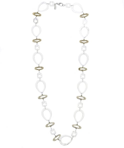 Mixed Shapes Long Necklace