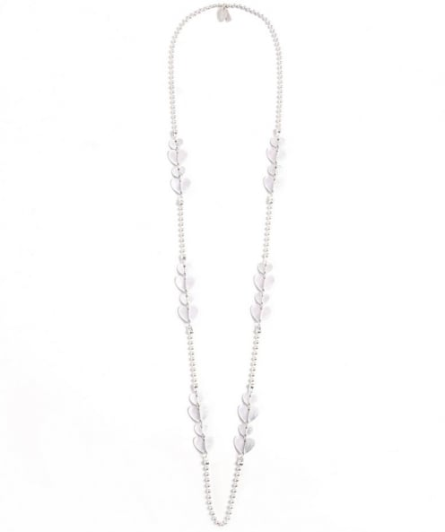 Silver Heart Chain Necklace