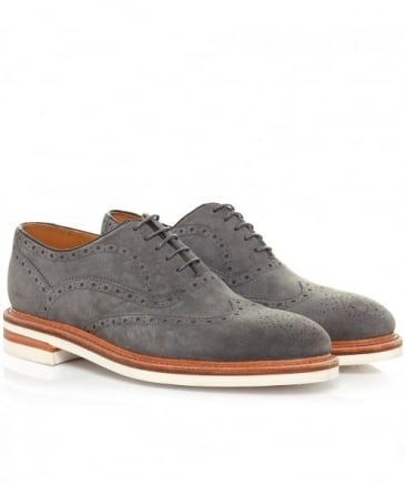 Leather Bideford Oxford Shoes