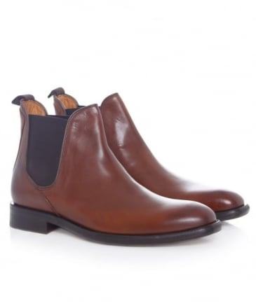 Leather Finch Chelsea Boots