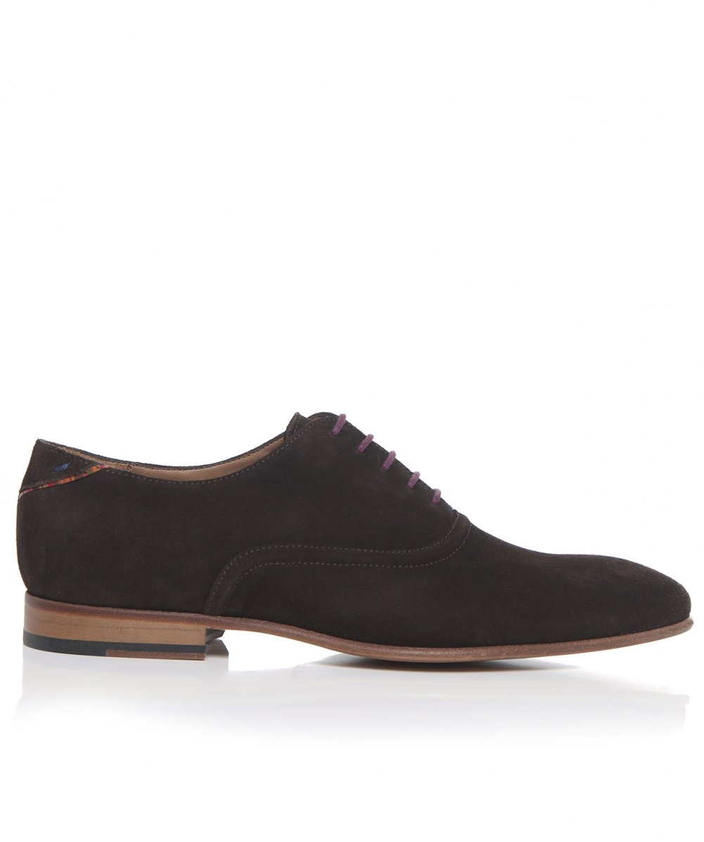 paul smith brown suede starling oxford shoes available at