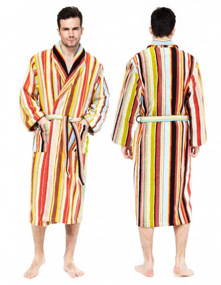 Paul Smith Accessories | Multi Stripe Dressing Gown | JULES B