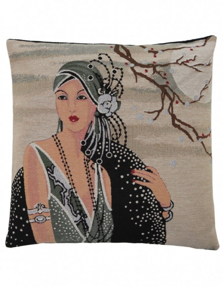 Fs Home Collection fs home collection   art noveau cushion   jules b