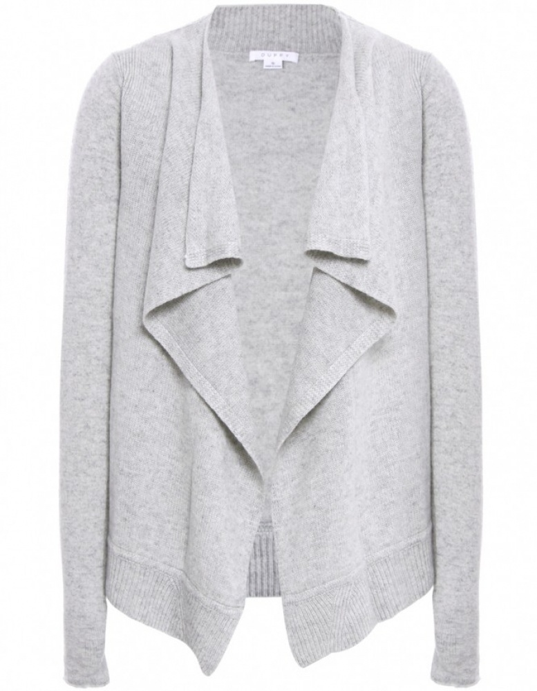 Duffy Cashmere Waterfall Cardigan | JULES B