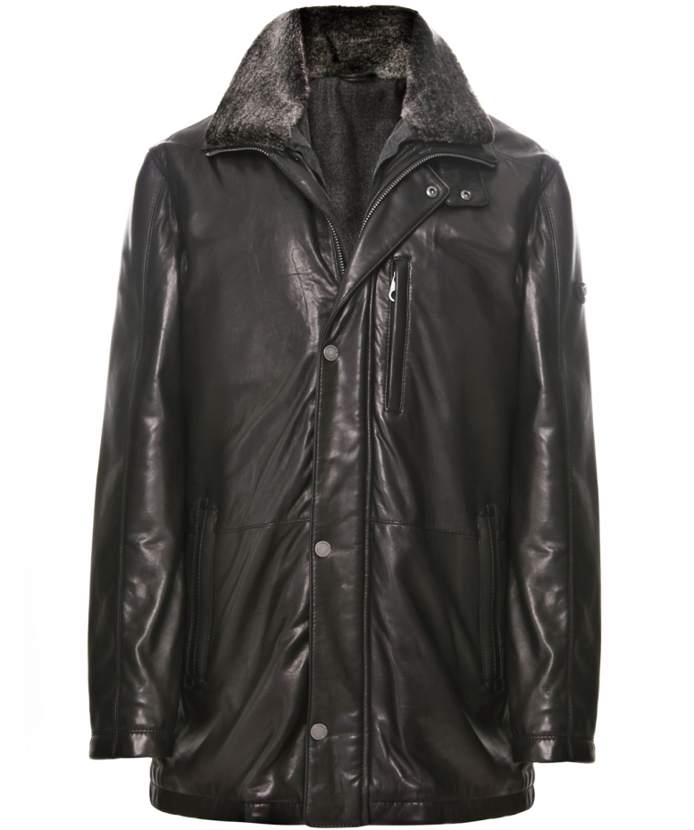 Trapper leather jackets