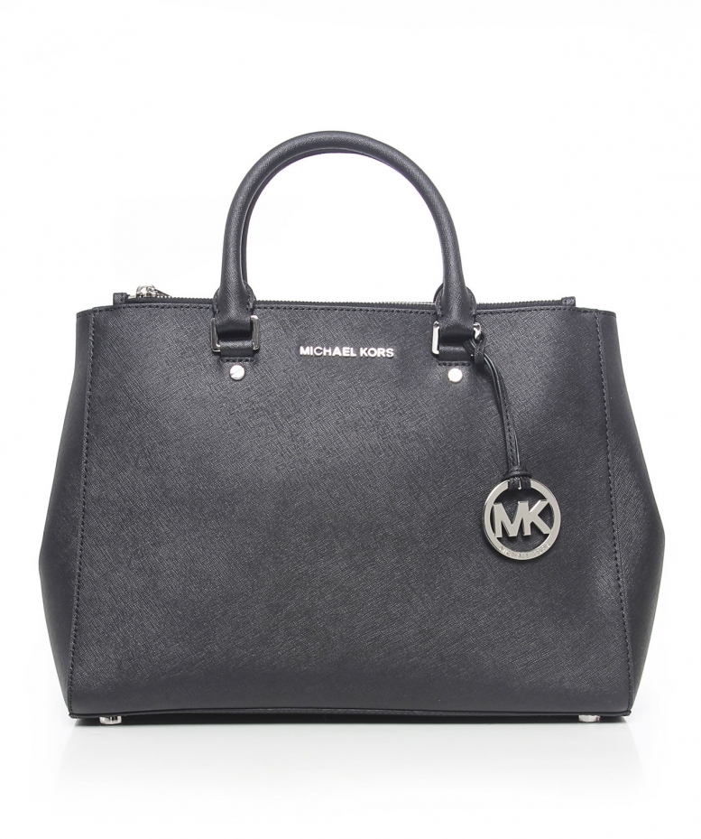 michael kors saffiano satchel available at jules b. Black Bedroom Furniture Sets. Home Design Ideas