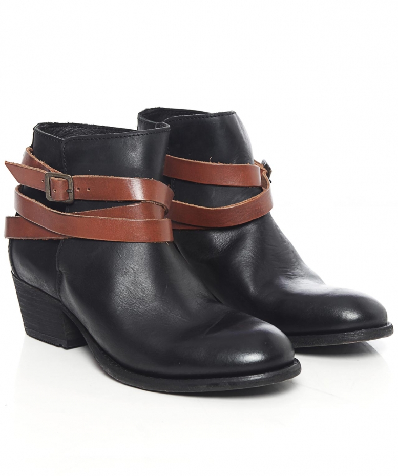 4957a737ceb H by Hudson Horrigan Calf Leather Boots