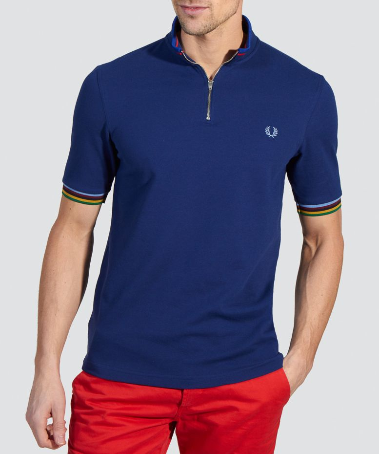 Fred Perry Bradley Wiggins Cycling Shirt available at Jules B 04263f5f3