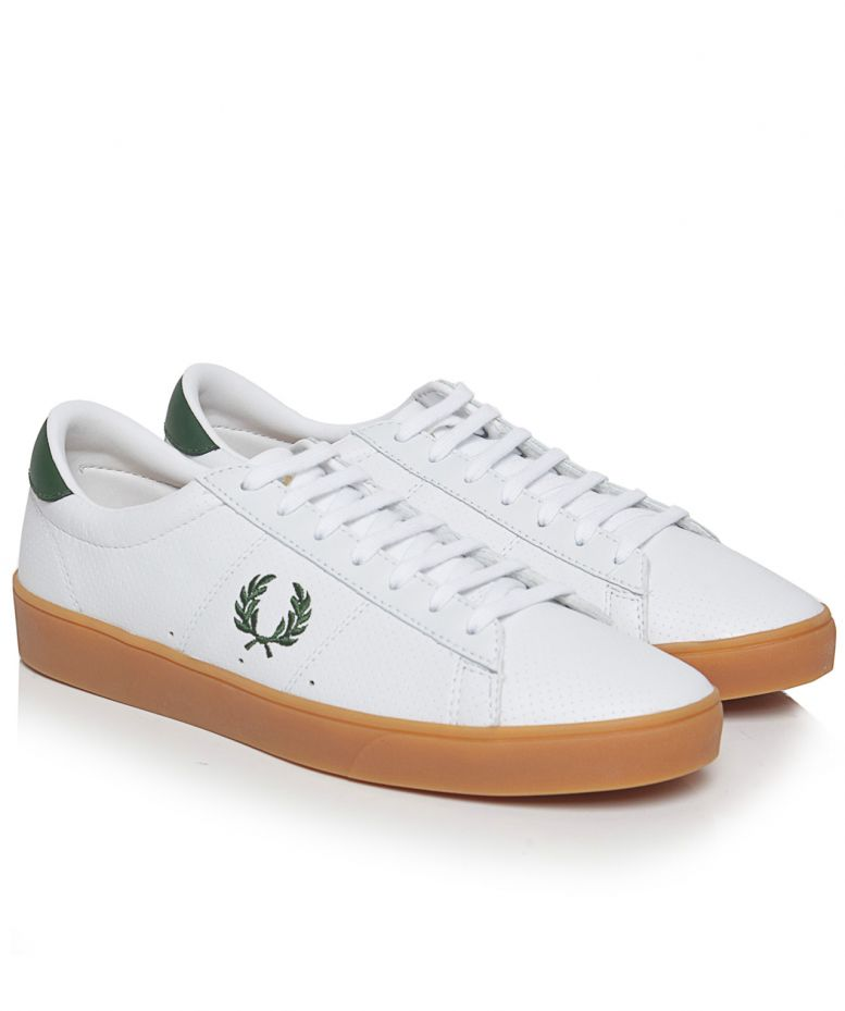 Fred Perry Spencer Perforated Trainers