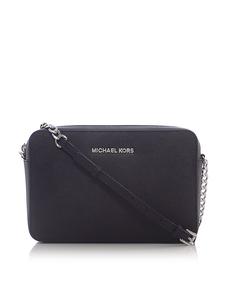 Michael Kors Crossbody Laukut : Michael kors black jet set crossbody bag