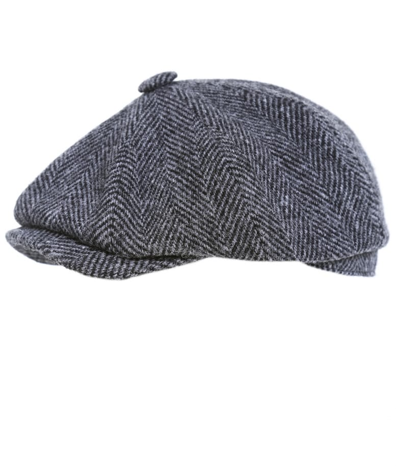 Olney Harris Tweed Flat Cap  caf660221383