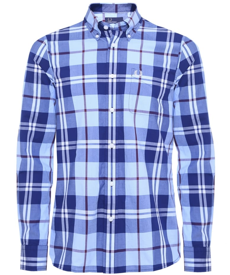f6dc87cd1 Fred Perry Bold Check Shirt