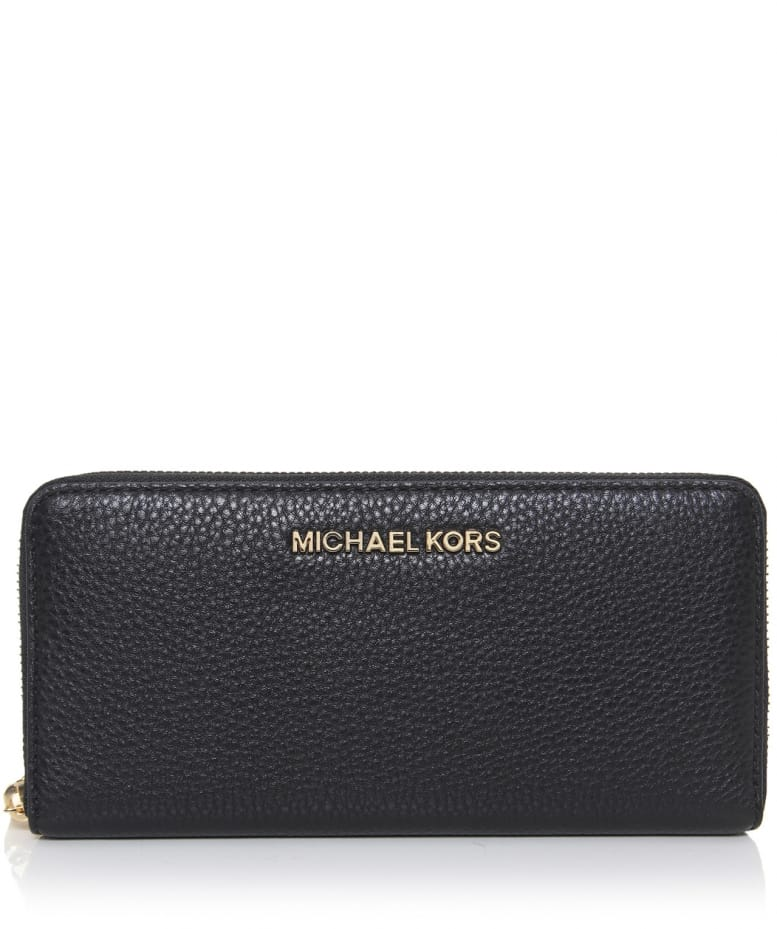 69074967fc1d MICHAEL Michael Kors Black Bedford Leather Purse