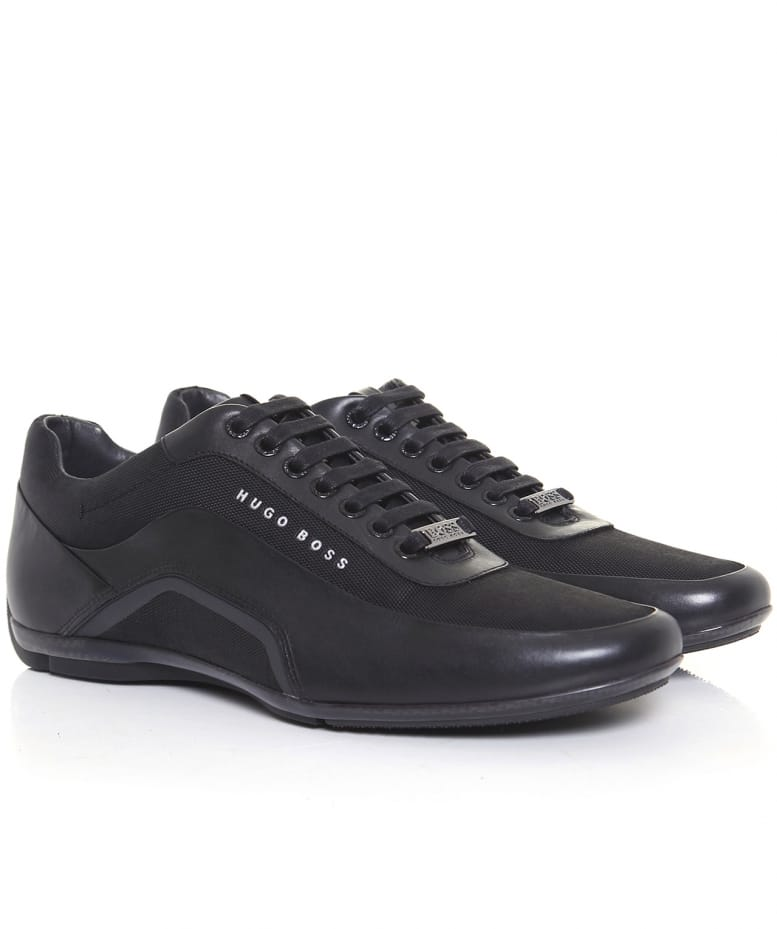 HB RACING - Sneaker low - black