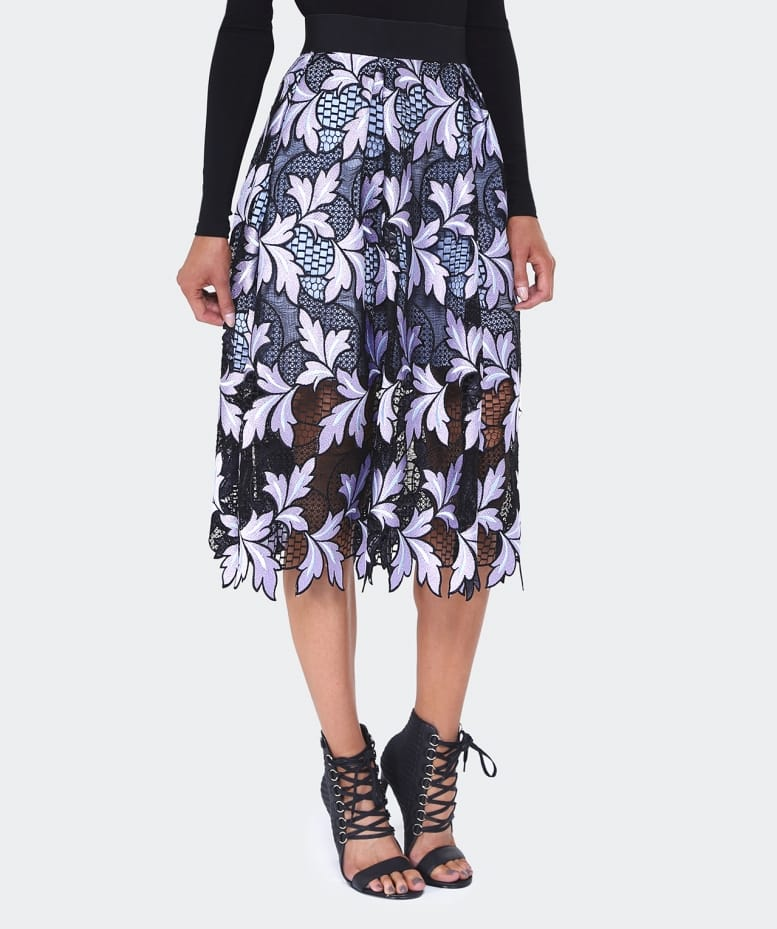 c13cbfb92a Self Portrait Patchwork Midi Skirt | Jules B