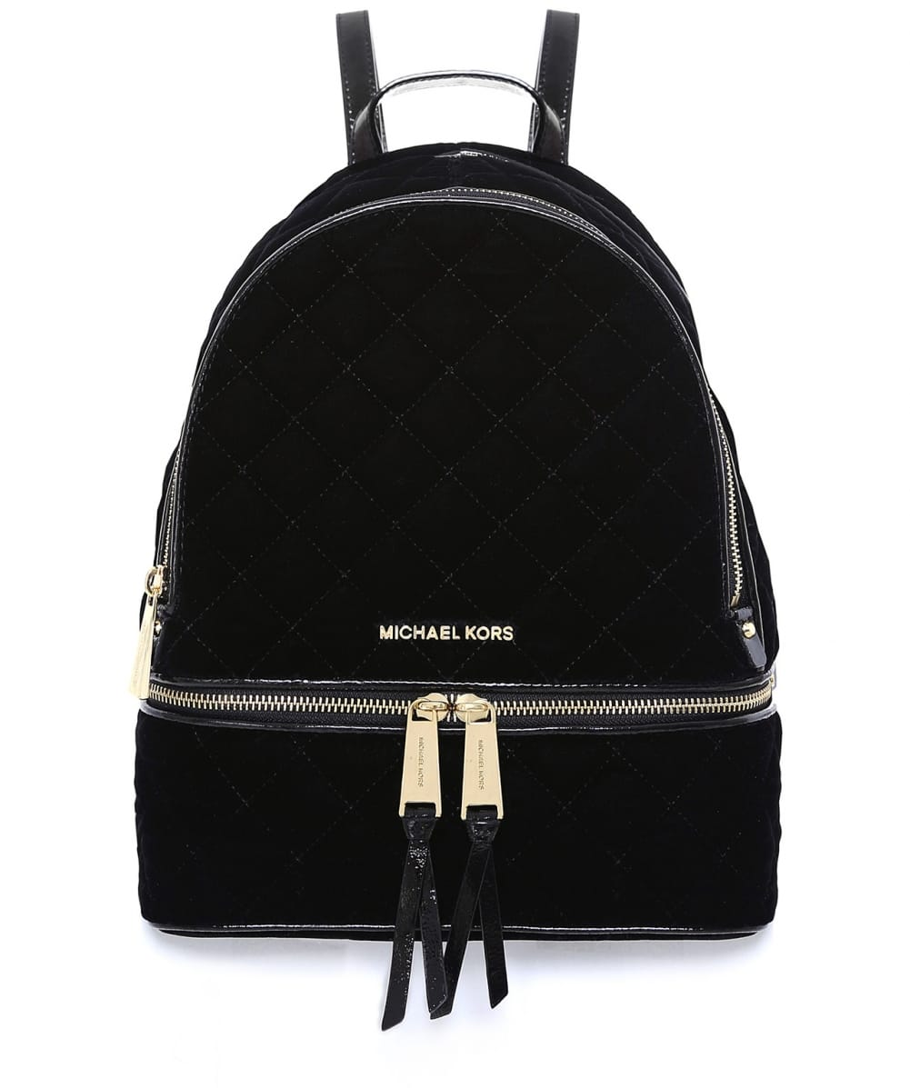 6f997bd16eed MICHAEL Michael Kors Black Quilted Backpack | Jules B