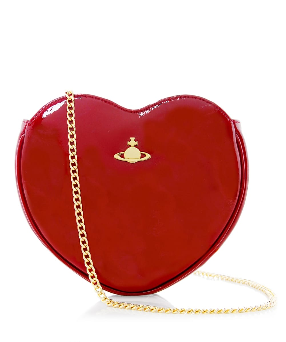 35483607970 Vivienne Westwood Accessories Red Mirror Ball Clutch Bag | Jules B