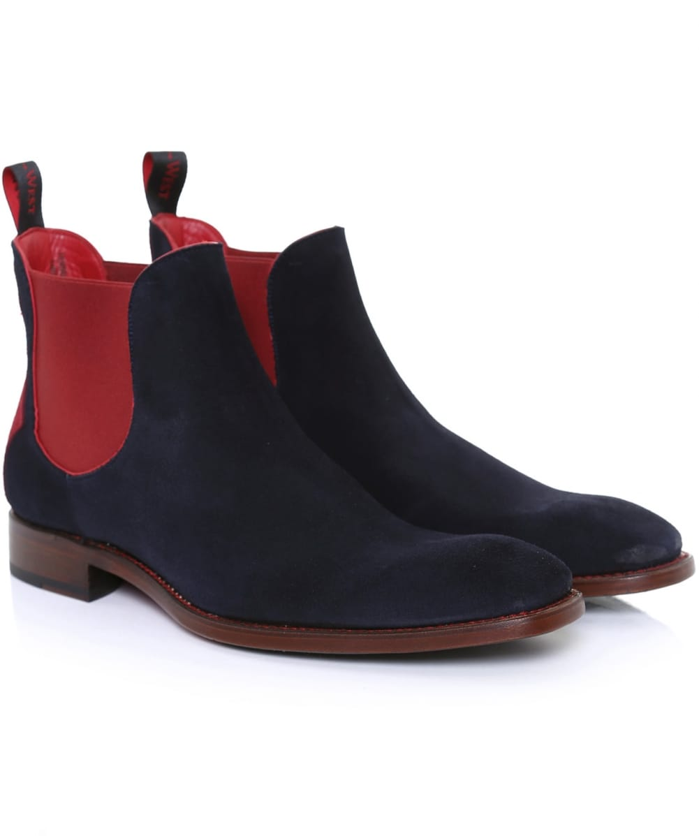 3964917fc1 Jeffery-West Suede Horror Show Libertine Chelsea Boots | Jules B