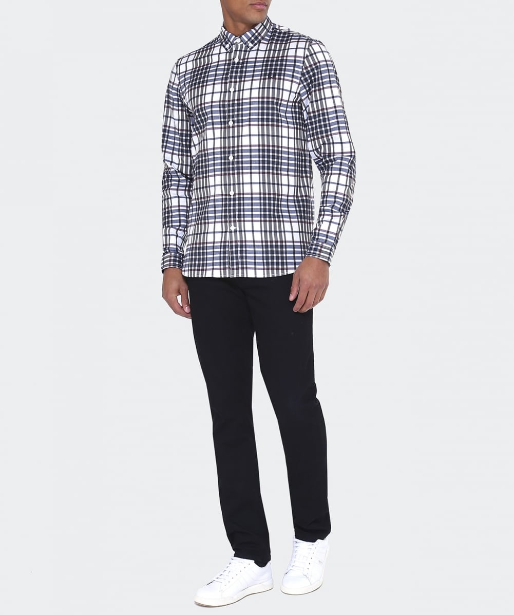 cd3f502c9 Fred Perry Twill Woven Check Shirt | Jules B