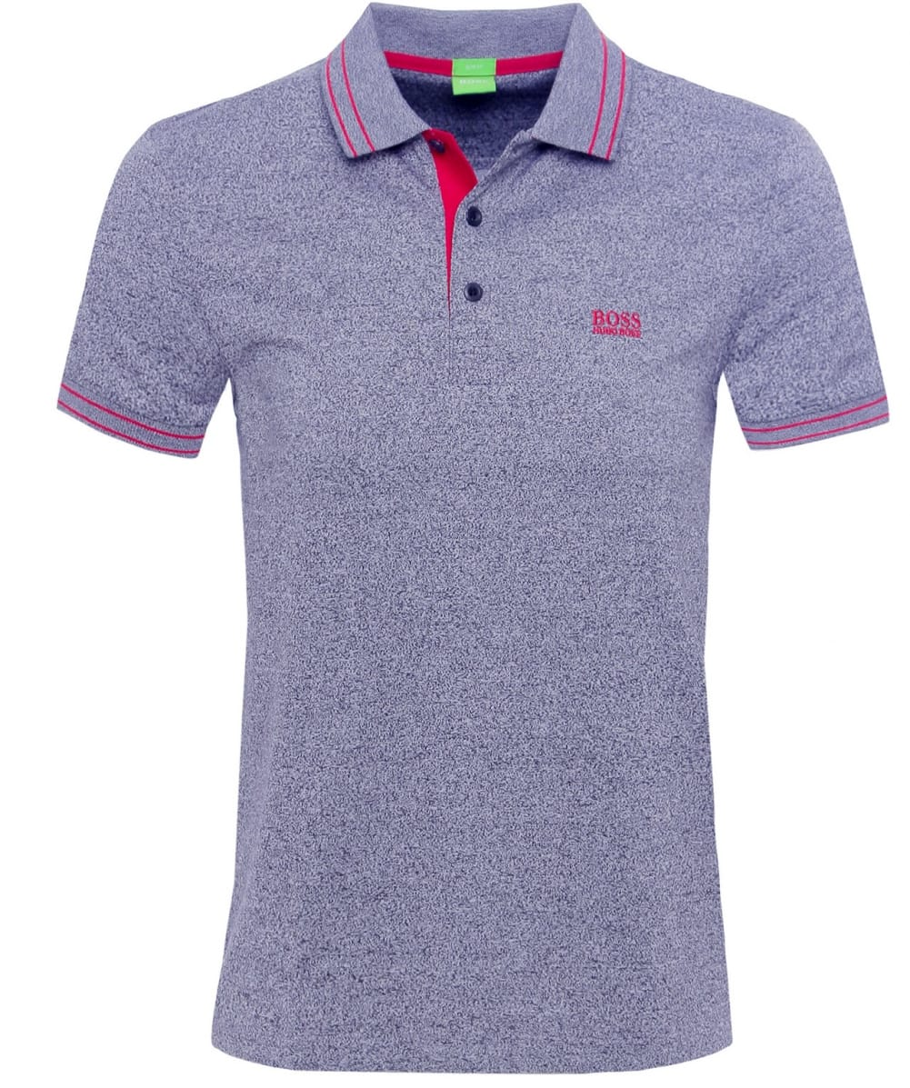 Hugo Boss Grey Slim Fit Paule 2 Polo Shirt Jules B