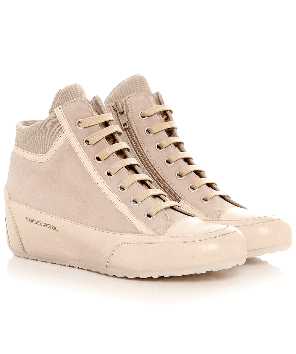 Candice Cooper Taupe Fast Glove Wedge