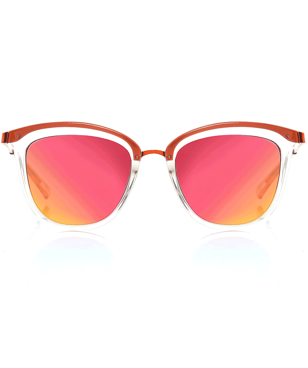 b7d8f5ede5c76 Le Specs Red Caliente Sunglasses