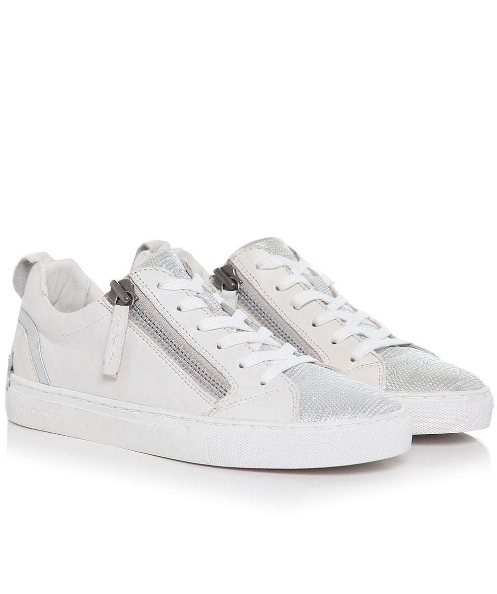 3a3a07e42859 Crime London Java Low Top Trainers