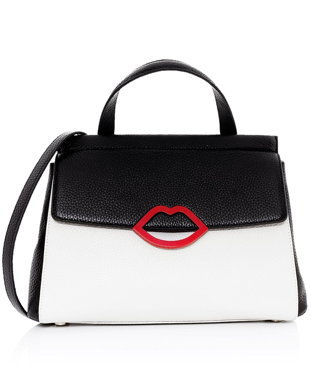 Lulu Guinness Grain Leather Gertie Bag