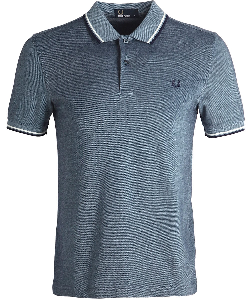 f61a0e72 Fred Perry Carbon Twin Tipped Polo Shirt M3600 E38 | Jules B